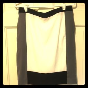 Narciso Rodriguez, colorblock skirt, size 6